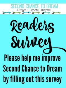 Second Chance to Dream Reader Survey