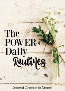 The Power of Daily Routines