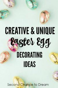 Creative & Unique Easter Egg Decorating Ideas