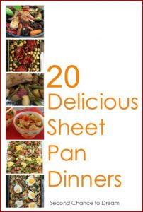 20 Delicious Sheet Pan Dinners