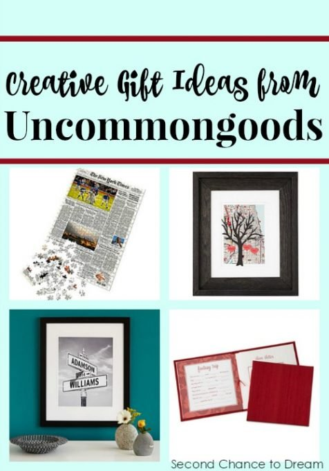 Second Chance to Dream: Uncommongoods Anniversary Gift ideas #giftideas