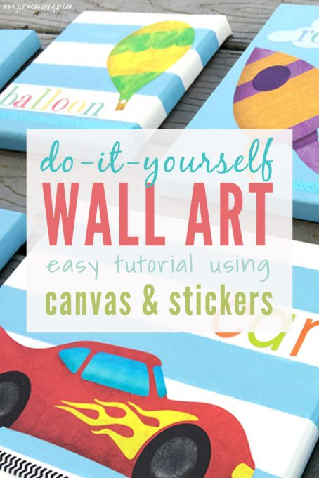 Using Wall Stickers to Create Cool Wall Art