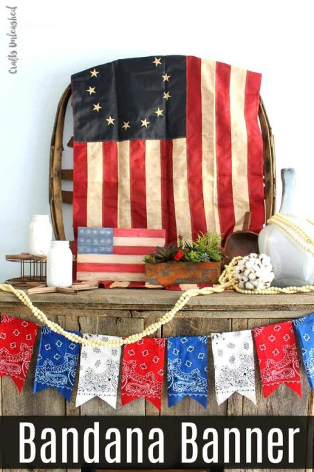 DIY Bandana Banner: Patriotic Themed - Consumer Crafts