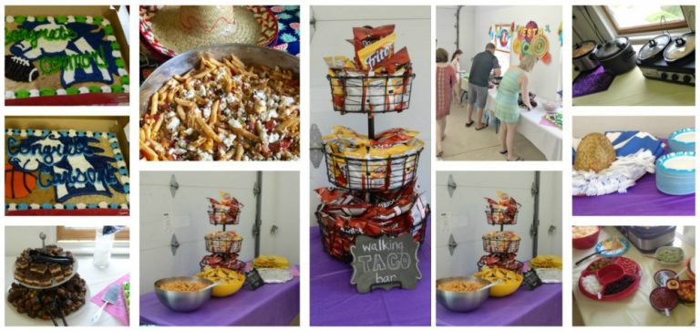 Second Chance to Dream: Mexican Fiesta Graduation Open House #Graduation #OpenHouse #MexicanFiesta