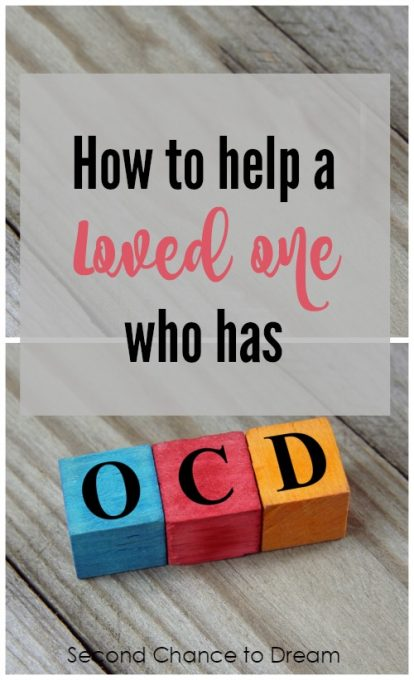 Second Chance to Dream: How to help a loved one who has OCD