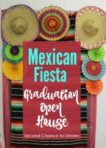 Mexican Fiesta Graduation Open House w/ Oriental Trading