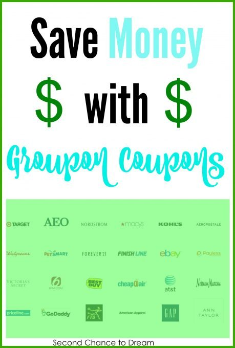 Second Chance to Dream: Save Money with Groupon Coupons #coupons