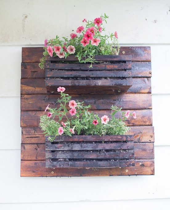DIY Wooden Pallet Planter