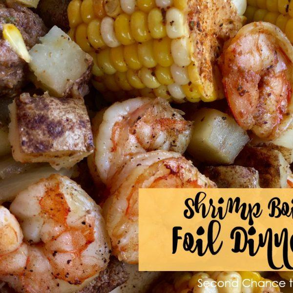 Second Chance to Dream: Shrimp Boil Foil Dinner #camping #recipes #summer