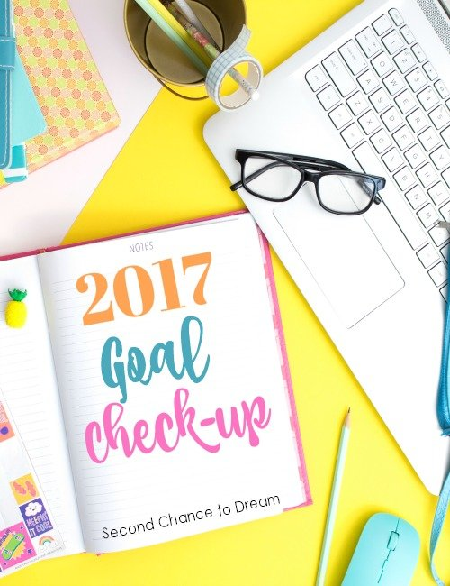 Second Chance to Dream: 2017 Goal Check-up #goals #dreams Let's finish 2017 strong!
