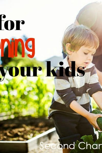 Tips for Gardening With Your Kids