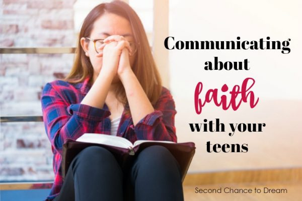 Communicating about faith with your teens