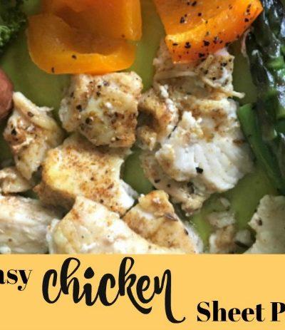 Quick & Easy Chicken Sheet Pan Dinner