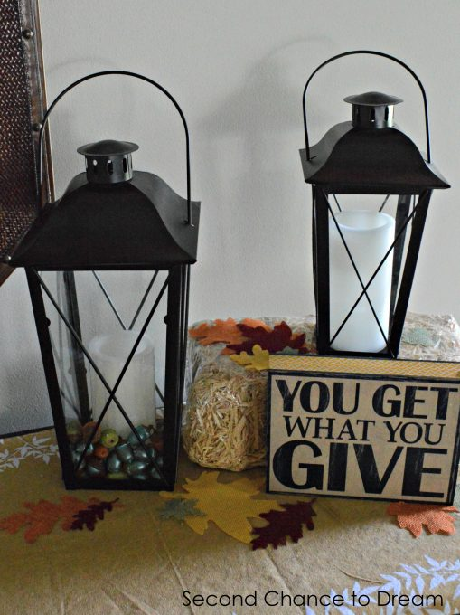 Second Chance to Dream: Inexpensive Fall Decor with #OrientalTrading