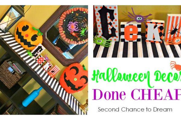 Halloween Decor Done Cheap!
