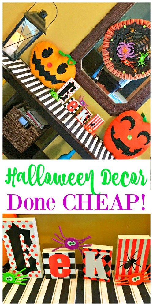 Second Chance to Dream: Halloween Decor Done Cheap! #Halloween #Decor