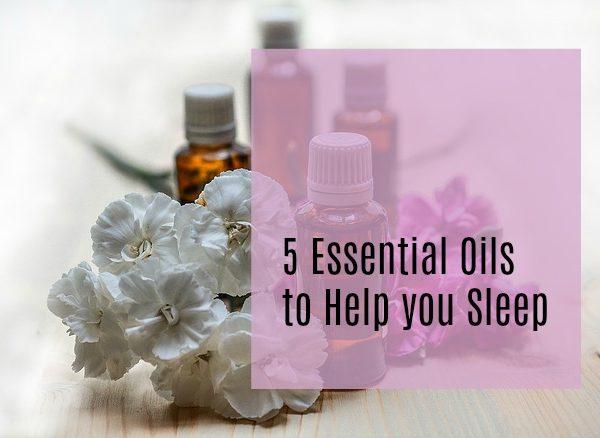 Second Chance to Dream: 5 Essential Oils to Help you sleep #essentialoils