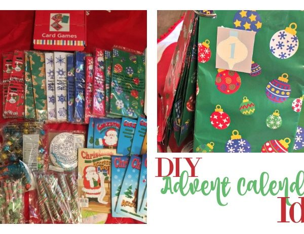 Second Chance to Dream: DIY Advent Calendar Idea #advent #christmas