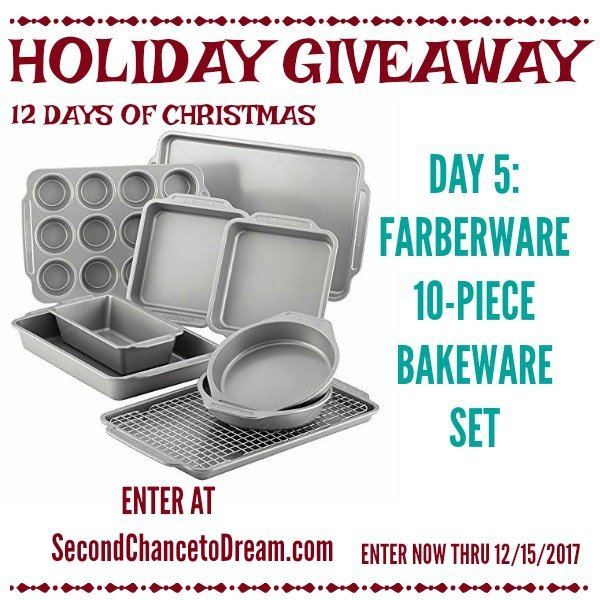 Second Chance to Dream- Faberware Baking Set Giveaway #Giveaway #HolidayBaking