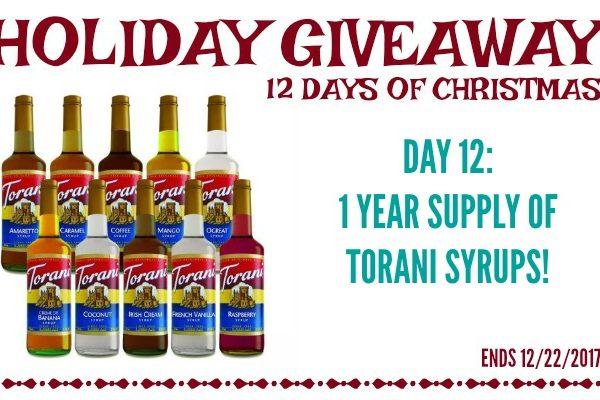 Second Chance to Dream: Torani Syrup Giveaway #Torani #Giveaway #coffee