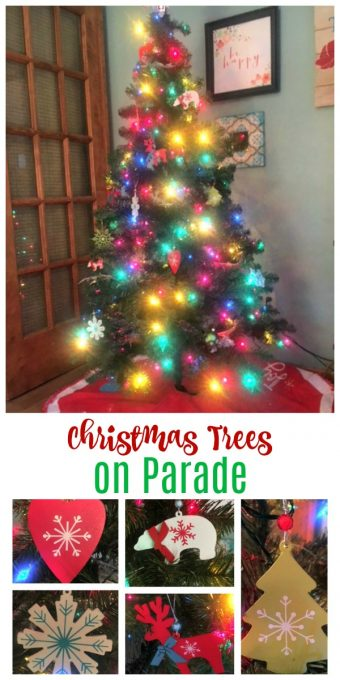 Second Chance to Dream: Christmas Trees on Parade #Christmastrees #Christmas