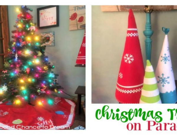 Second Chance to Dream: Christmas Trees on Parade #Christmastrees #Christmas #OrientalTrading