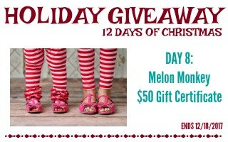 Second Chance to Dream: Melon Monkey Holiday Giveaway