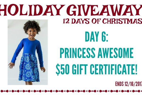 Second Chance to Dream: Princess Awesome $50 Gift Certificate Giveaway