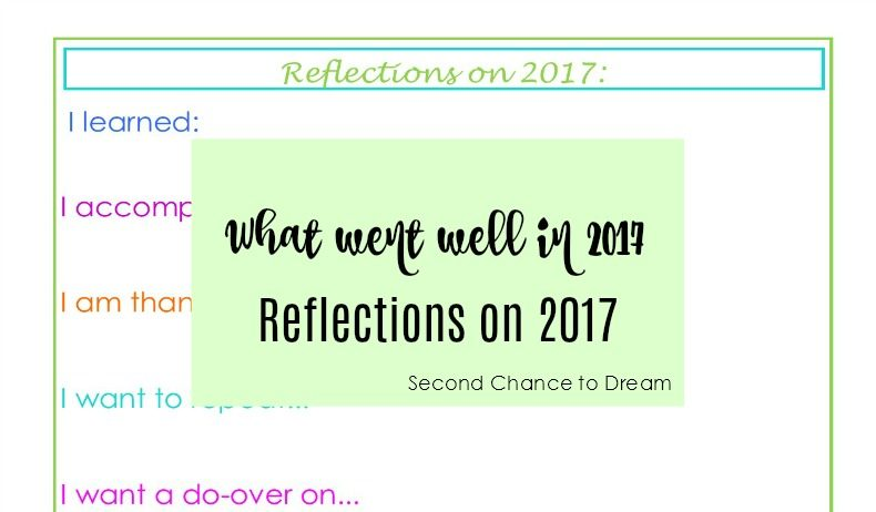 Second Chance to Dream: Reflections on 2017 #success