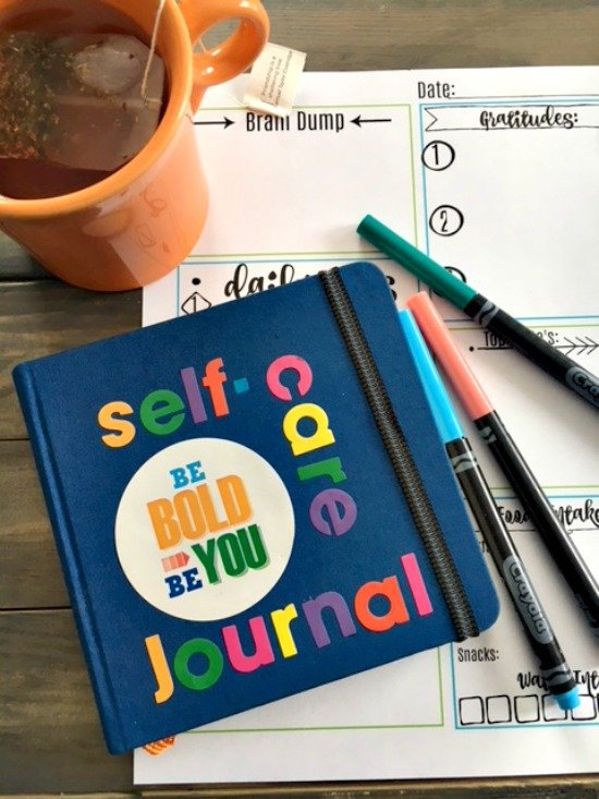 Second Chance to Dream: Self-Care Journal + FREE Self-Care Printable What do you do daily that builds you up and nurtures you? #selfcare #lifelessons