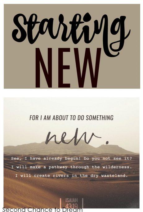 Second Chance to Dream: Starting New #lifelessons #Newbeginnings #wins