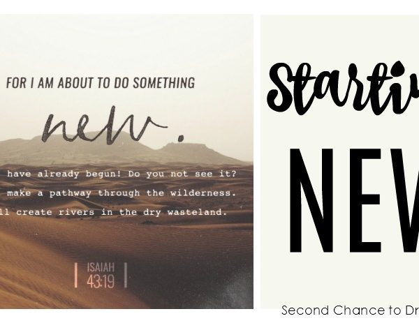 Second Chance to Dream: Starting New #lifelessons #newbeginnings