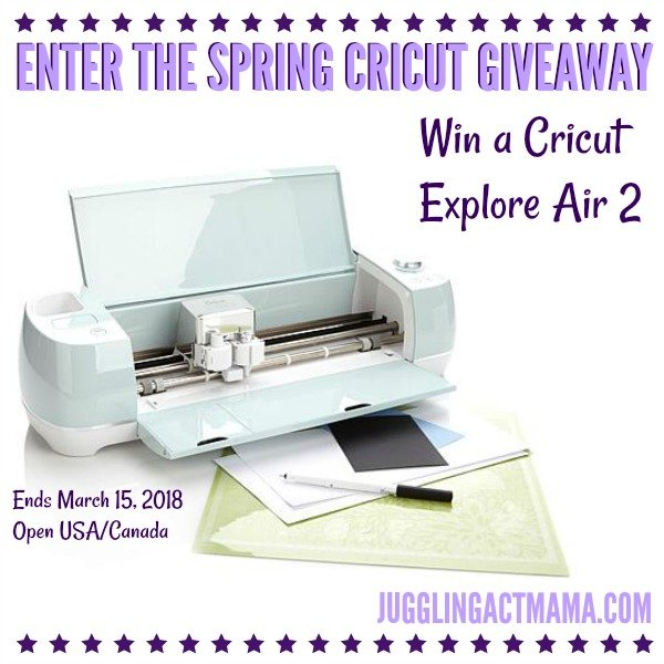 Second Chance To Dream - Spring 2018 Cricut Explore Air 2