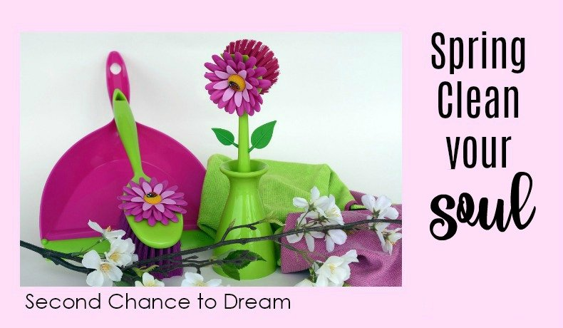 Second Chance to Dream: Spring Clean your Soul #lifelessons #soulcare #healthy
