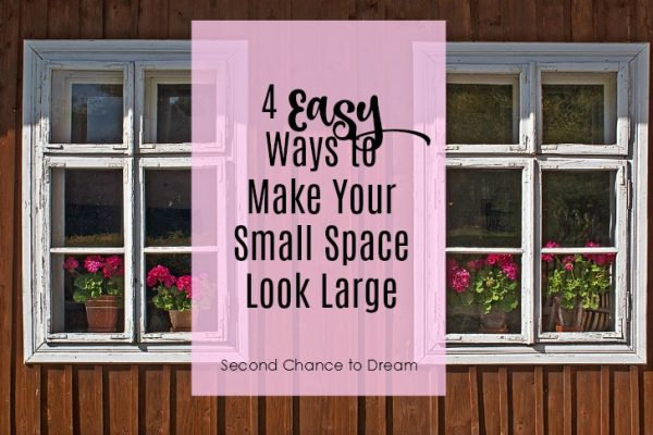 4 Easy Ways to Make Your Small Space Look Large