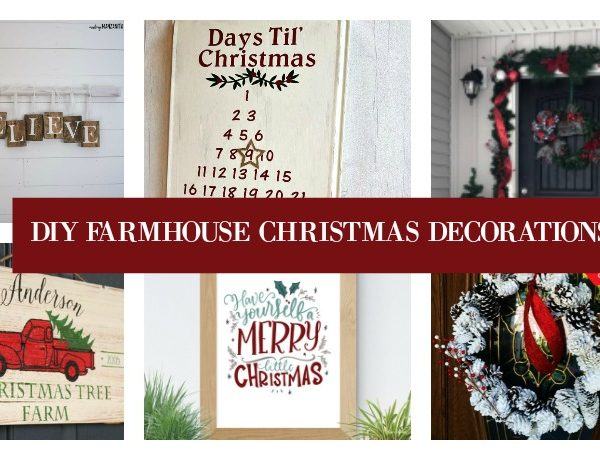 Second Chance to Dream: DIY Farmhouse Christmas Decorations