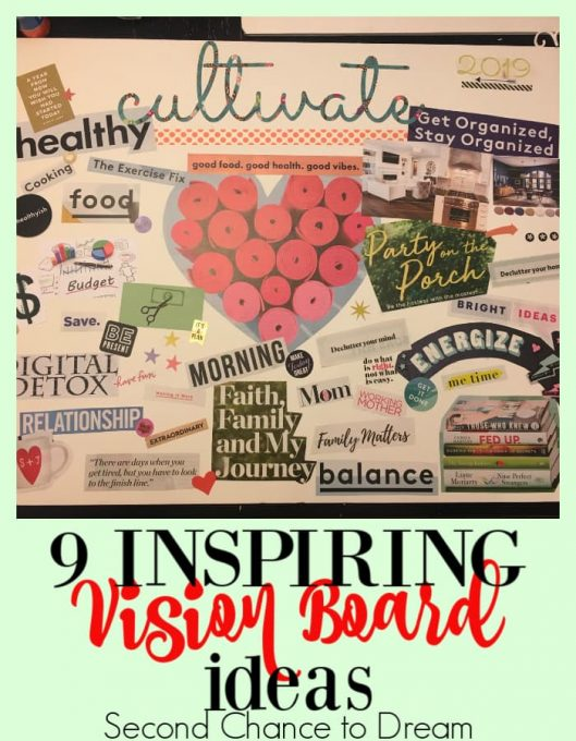 2019 Visualization Board Ideas Second Chance To Dream   9 Inspiring Vision Board Ideas